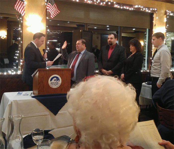 Revere Chamber of Commerce Board of Directors Ceremony