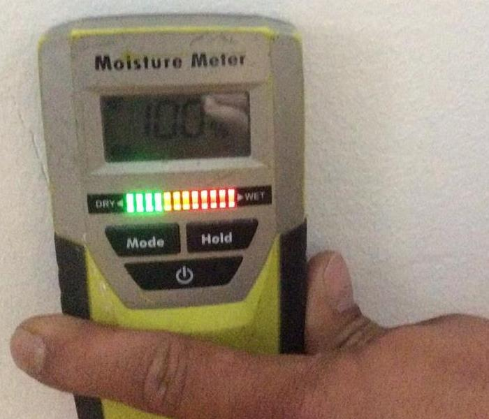 Moisture Readings